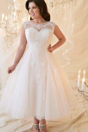 Cloverbridal Hochzeitskleider F/ür Damen Wei/ß Standesamt Kurz T/üll Spitze A Linie Champagner Brautkleider